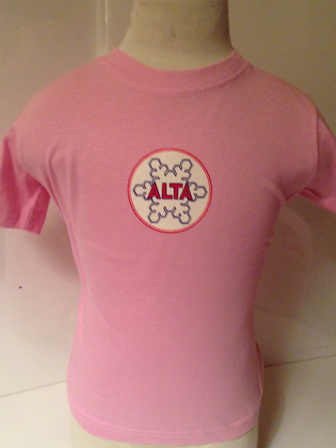 Pink Alta Baby Medalion T-Shirt