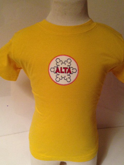 Yellow Alta Baby Medalion T-Shirt