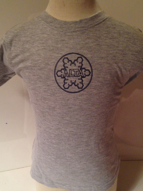 Sport Grey Alta Baby Snowflake T-Shirt