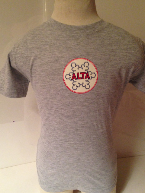 Sport Grey Alta Baby Medalion T-Shirt